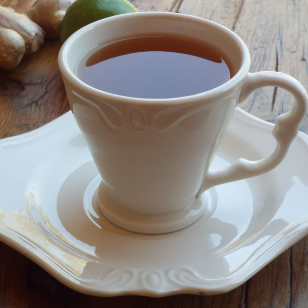 Ginger Black Tea with Honey and Lime recipe