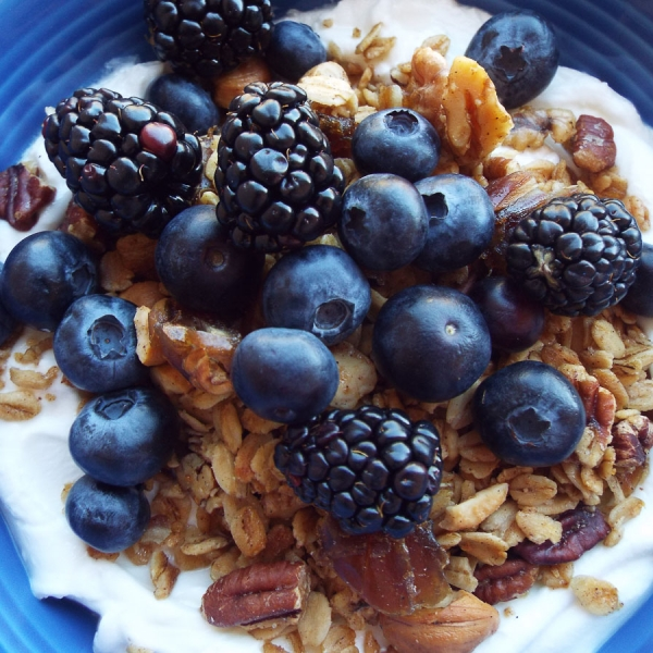 Maple Nut Granola recipe