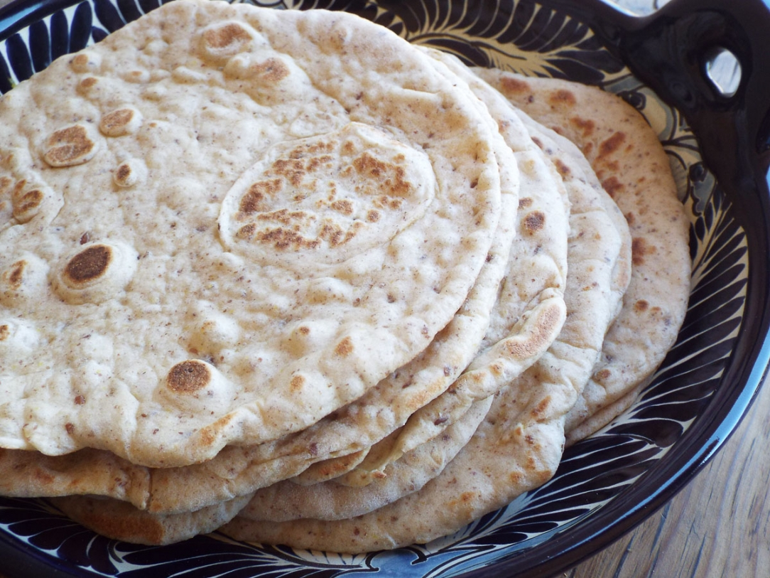 Flaxseed Flatbread recipe