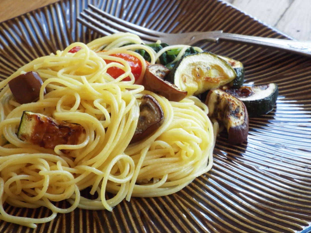 Garden Pasta with Lemon and Parmesan Cheese recipe