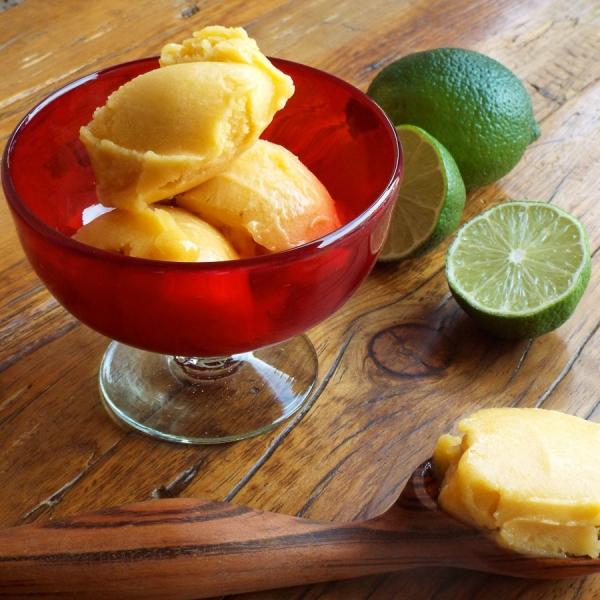 Peach Mango Sorbet recipe