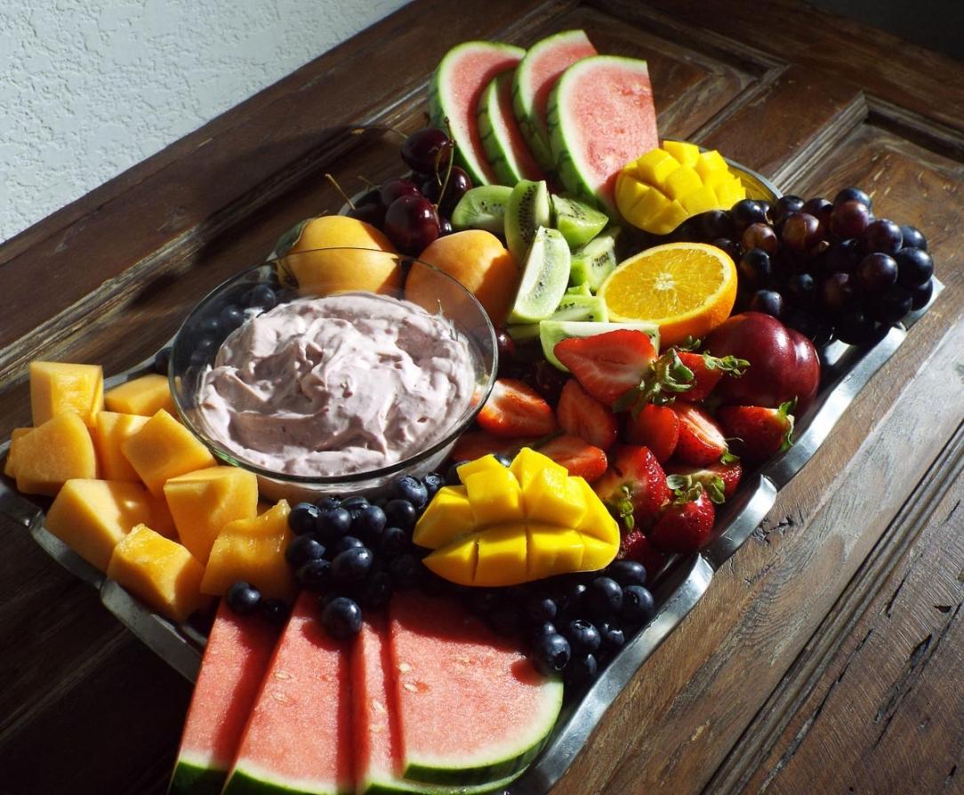 Creamy Raspberry Fruit Dip recipe
