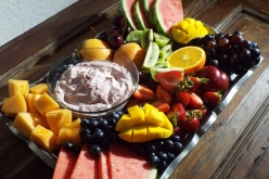 Creamy Raspberry Fruit Dip recipe