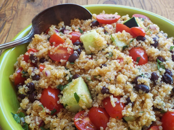 Spicy Quinoa Salad recipe