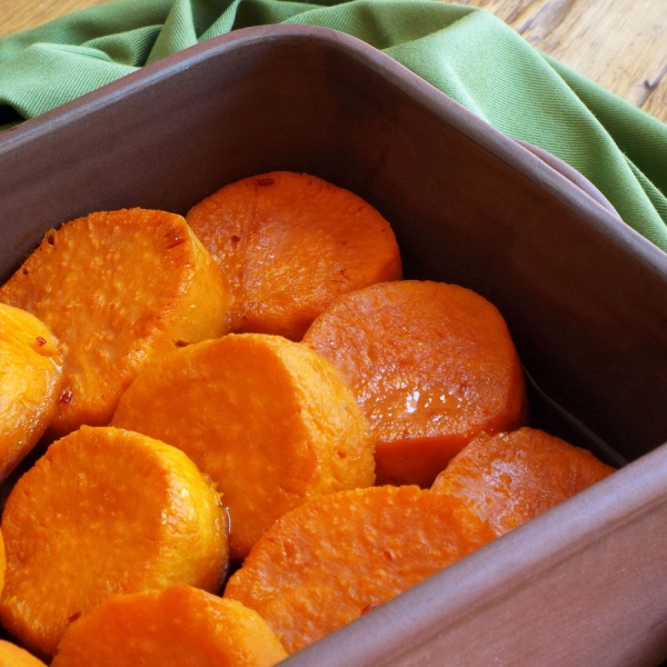 Chili Lime Sweet Potatoes recipe
