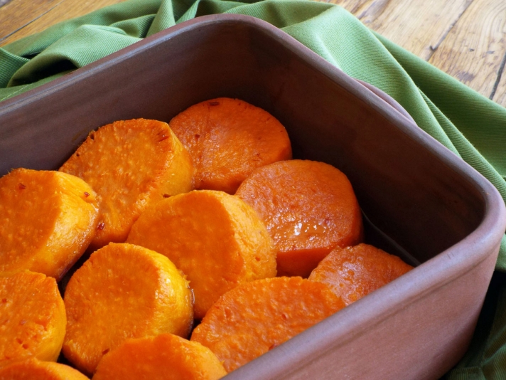 Chili Lime Sweet Potatoes recipe