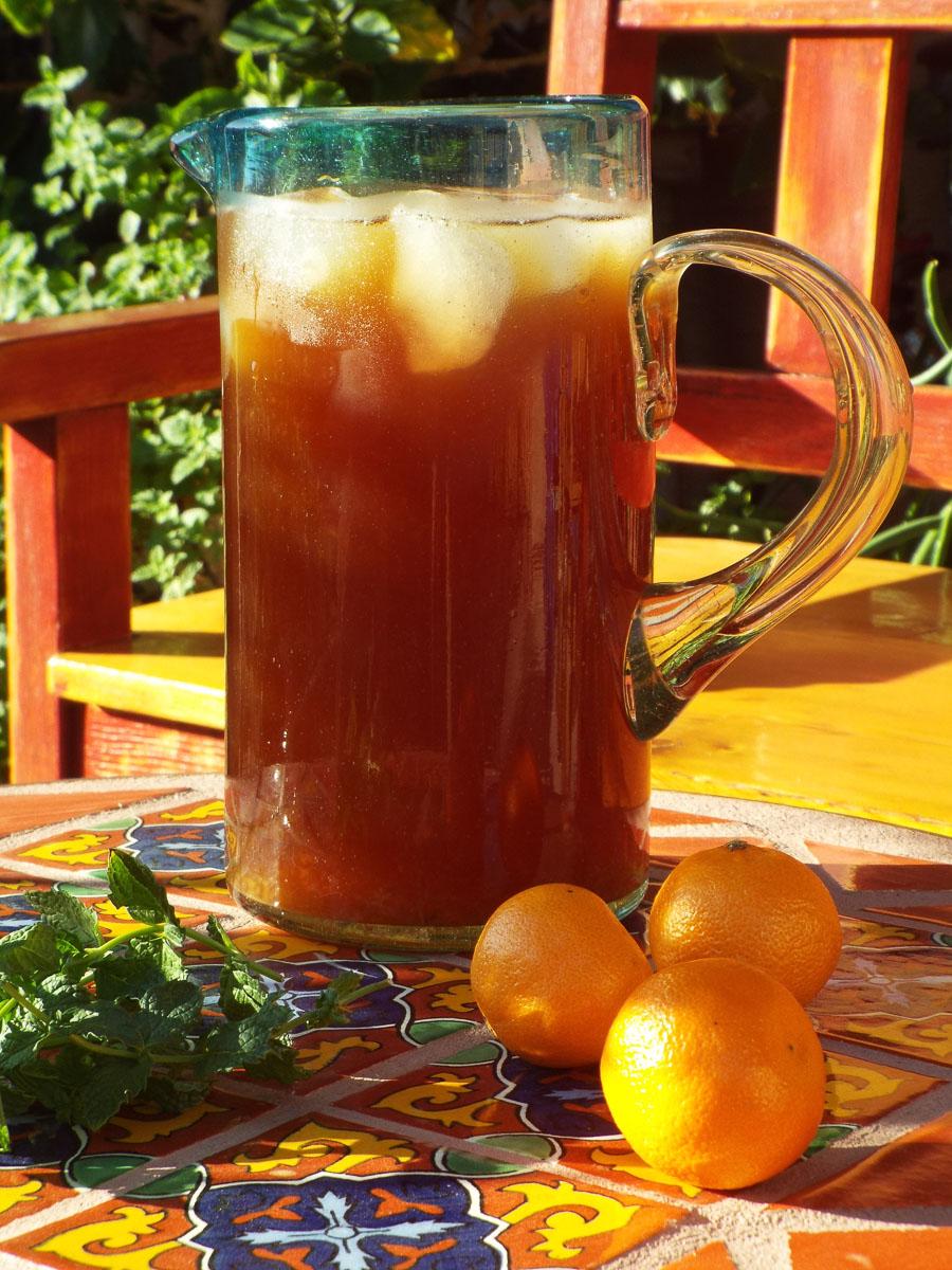 Tangerine Mint Iced Tea recipe
