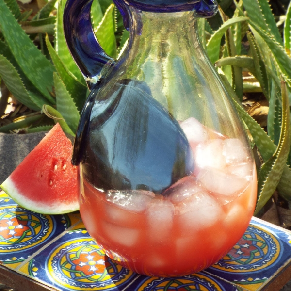 Watermelon Lemon Agua Fresca recipe