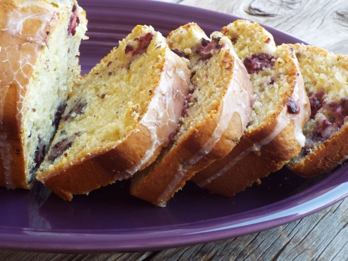 Blackberry Orange Quick Bread recipe