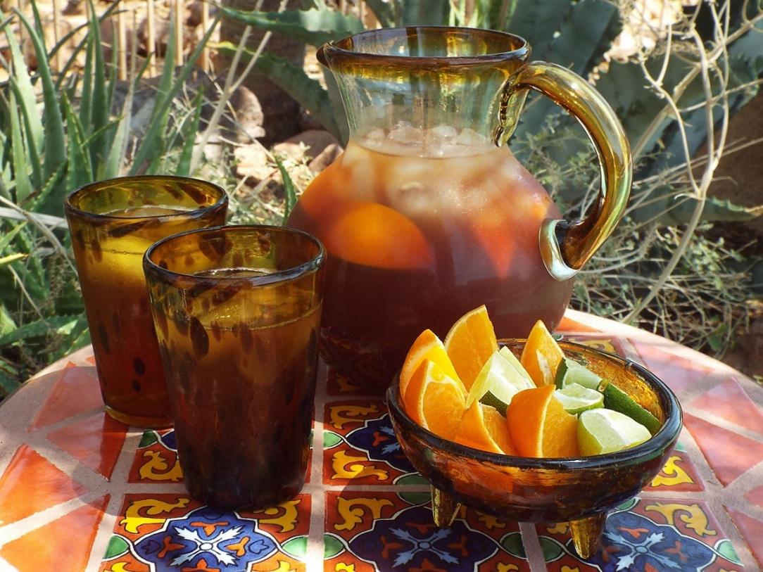 Pomegranate Citrus Iced Tea recipe