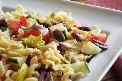 Pasta Salad with Kalamata Olives and Artichoke Hearts recipe